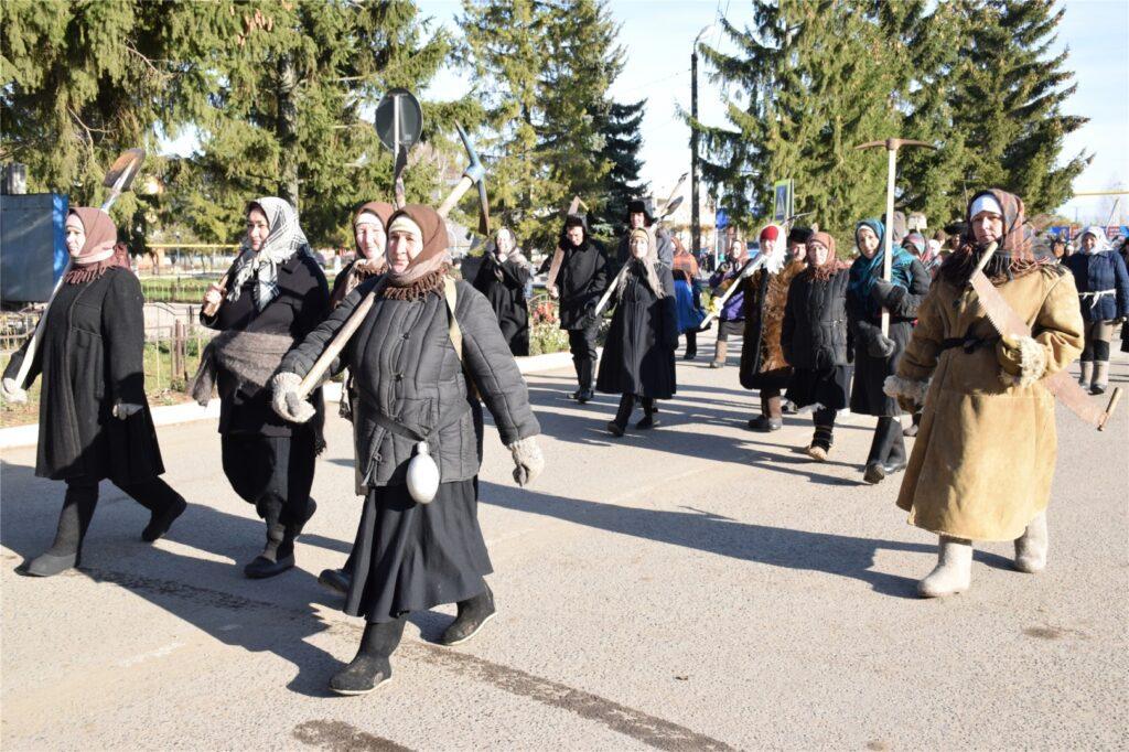 Красночетайский район: шествие