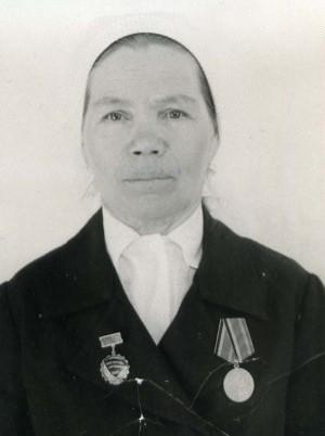Димитриева Матрёна Николаевна